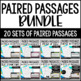 Paired Passages {MEGA Bundle - Seasonal and Non-Seasonal}