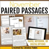 Paired Passages November