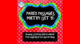 Reading Strategies/Close Reading Paired Passages: Poetry #5