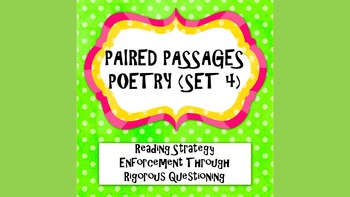 Paired Passages(Close Reading): Poetry passage #4 Lincoln