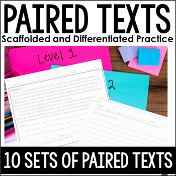 Paired Passages {Scaffolded... by Jennifer Findley | Teachers Pay ...