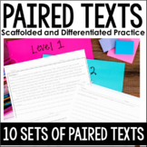 Paired Texts   Differentiated Paired Passage Practice