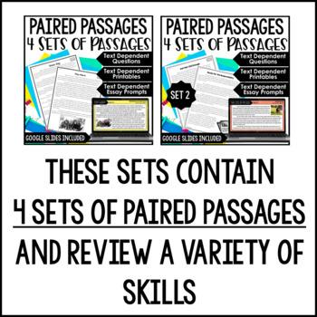 Paired Passages {BUNDLE}