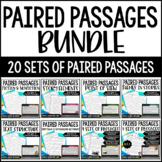 Paired Passages {BUNDLE} - includes Google Slides™  Digita