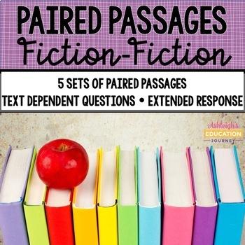 Paired Passages {Set 1 Fiction-Fiction}