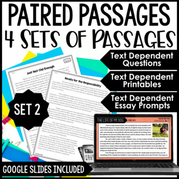 Paired Passages {Set 2}