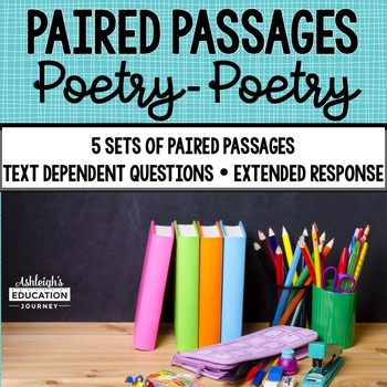 Paired Passages {Set 4 Poetry-Poetry}