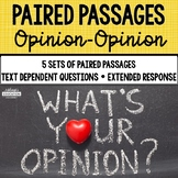 Paired Passages {Set 6 Opinion-Opinion}