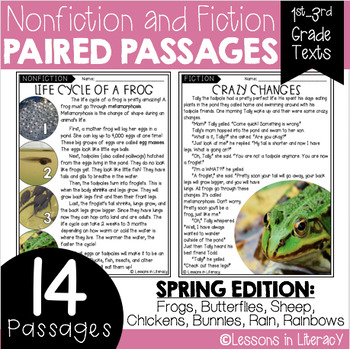 Spring Paired Passages
