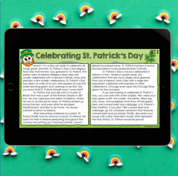 Paired Passages {Valentine's Day & St. Patrick's Day}