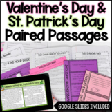 Paired Passages - Valentine's Day and St. Patrick's Day Di
