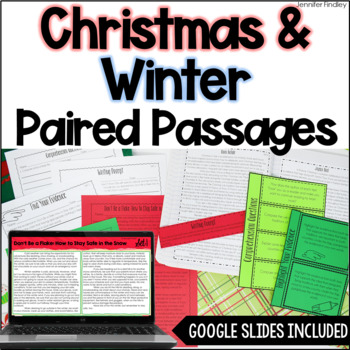 Paired Passages | Winter & Christmas Paired Passages
