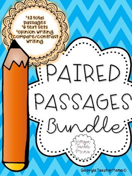Paired Passages Writing Bundle