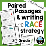 Paired Passages and Writing with the RACE Strategy: 3rd Grade