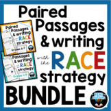Paired Passages and Writing with the RACE Strategy Bundle: 60 Passages