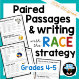 Paired Passages and RACE Strategy Writing Passages and Prompts | Grades 4-5
