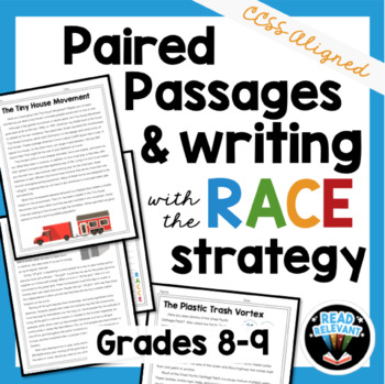 Paired Passages and Writing with the RACE Strategy: Grades 8-9
