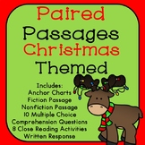 Christmas Reading Comprehension Paired Passages