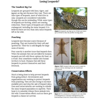 Paired Passages: Endangered Species: Grades 3-5 [Print & Digital]