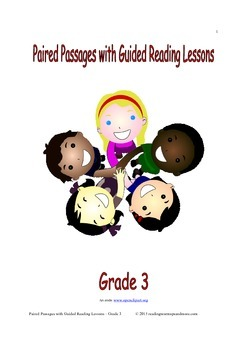 Paired Passages with Guided Reading Lessons - Grade 3
