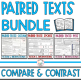 Paired Passages with Questions BUNDLE