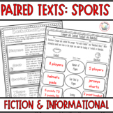 Paired Passages with Questions: Sports Fiction and Nonfiction