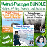 Paired Passages with Writing Prompts and Activities BUNDLE