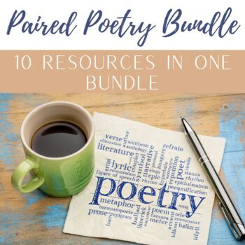 Paired Poetry Bundle (Sets 1-10)