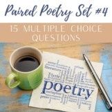 Paired Poetry PARCC Questions Set #4