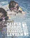 Paired Reading Comprehension Passages: Guided Reading Leve