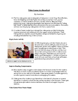 Paired Reading Passage Practice