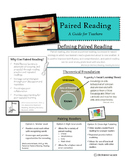 Paired Reading Teacher Handout