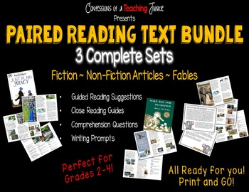 Paired Reading Text Bundle
