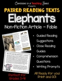 Paired Reading Texts – Non-Fiction Article and a Fable