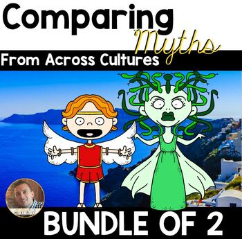 Paired Reading and Writing BUNDLE: Comparing Myths/Legends