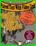 Paired Text - Bats - Nonfiction - SBAC - CRT - Test Prep