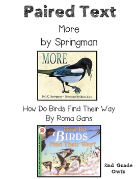 Paired Text Birds