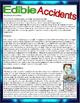 """Paired Text - """"Edible Accidents""""- SBAC - CRT - Common Core"""