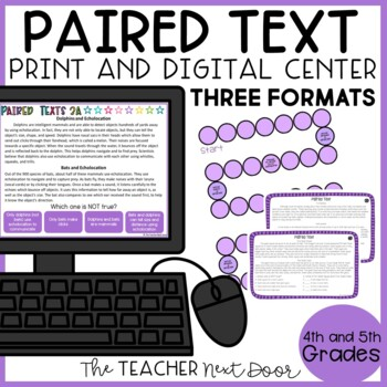 Paired Text Game | Paired Text Center | Paired Passages