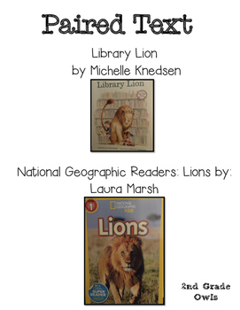 Paired Text Lions