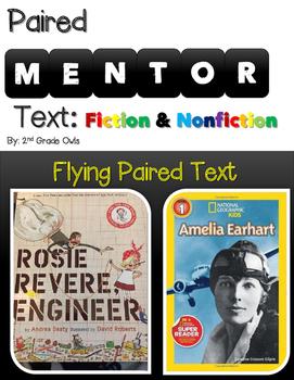 Paired Text Rosie & Amelia Earhart & Engineering