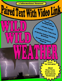 "Paired Text "" Wild Weather""  Hurricanes  Tornadoes  Thunderstorms"