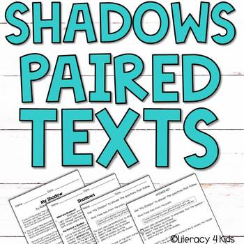 Paired Texts / Paired Passages (Shadows)