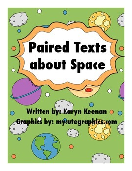 Paired Texts About Space--BUNDLE