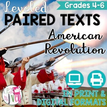 Paired Texts / Paired Passages: American Revolution Grades 4-6