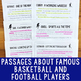 Paired Texts Bundle #2 (Grades 1-2): Paired Texts About Famous Athletes