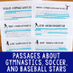 Paired Texts Bundle #2 (Grades 3-4): Paired Texts About Famous Athletes