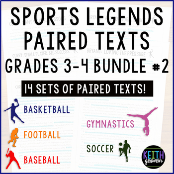 Paired Texts Bundle 2 Grades 3 4 About Famous