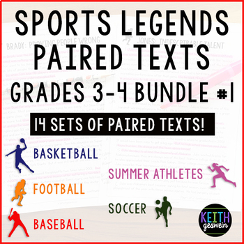 Paired Texts Bundle (Grades 3-4): 14 Sets Of Paired Texts