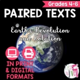 Paired Texts / Paired Passages: Earth's Revolution and Rotation Grades 4-6